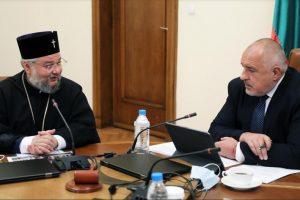 Борисов обеща на Киприан пълен ремонт на светата обител