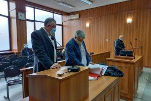 Д-р Иван Димитров в съдебната зала