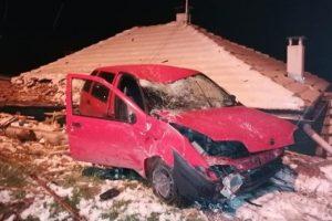 Кацналата на покрива кола Кадър: bTV
