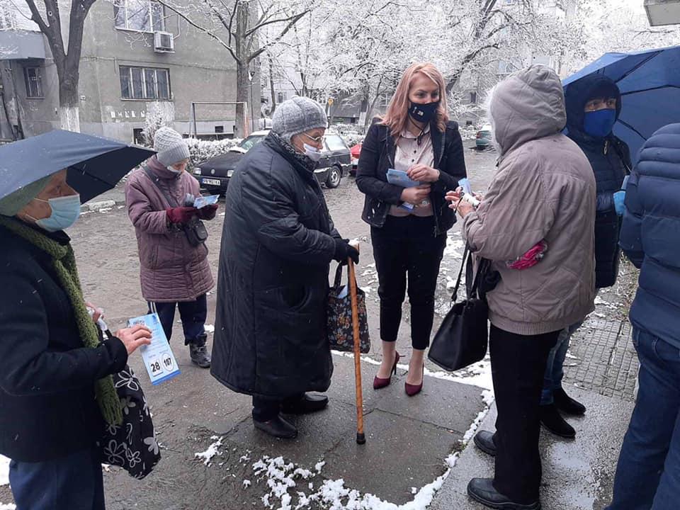 Надя Танева на среща с пловдивчани