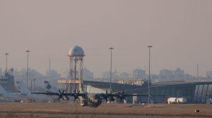 На летище Пловдив...