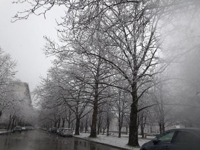 Сняг в Пловдив