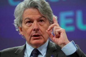 Eврокомисарят за вътрешния пазар Тиери Бретон