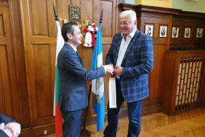 Прощалната среща в Община Пловдив