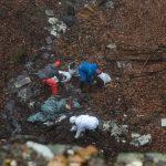 Разчистването на сметището в дерето край Лилково.