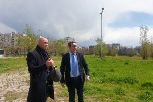 Тодор Чонов и Костадин Димитров направиха проверка на място.
