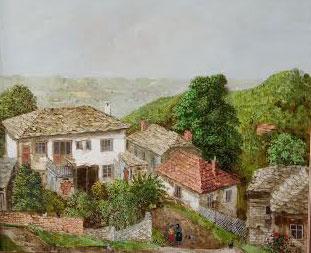 Една от картините в изложбата