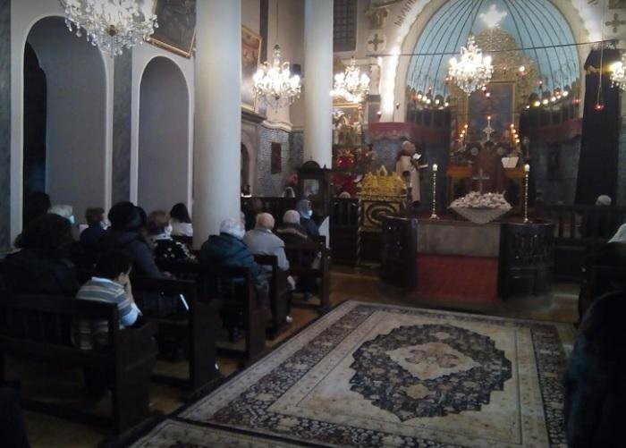 Отец Храч Мурадян отслужи празнична литургия, снимка: ПловдивПрес