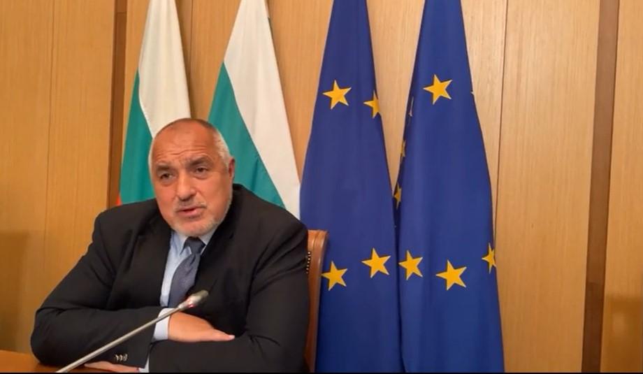 Борисов на първото събиране на депутатите от ГЕРБ след изборите.
