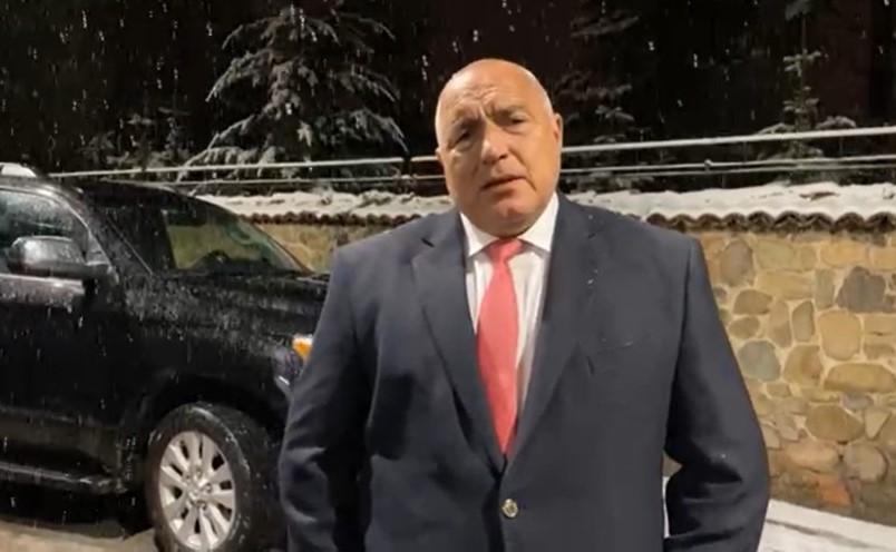 Борисов коментира изборните резултати.