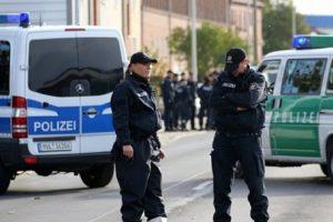 Немската полиция отцепи мястото на престъплението