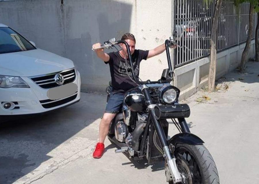 Венелин Говедаров си пада и по скъпите мотори.