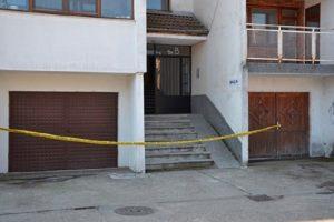 Трагедията се разигра на шестия етаж в този блок, снимка: 24 часа