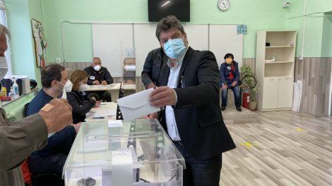 Владимир Кисьов гласува в Марково