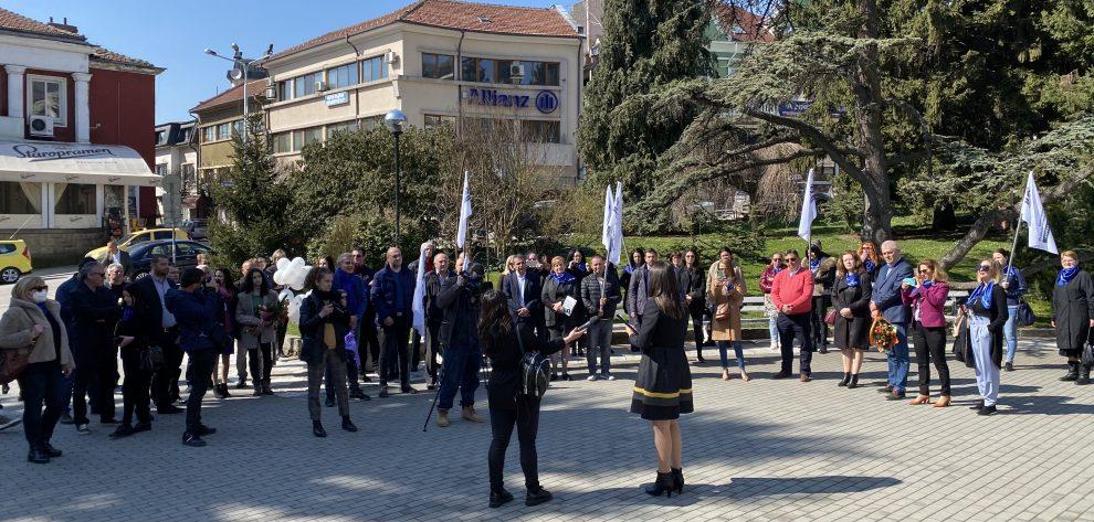 Закриването на кампанията на партия КОД във Велико Търново.