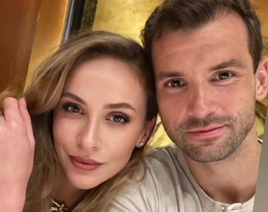 Лолита Османова и Григор Димитров