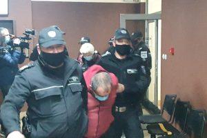 Бойка Янушева и Слейман Хамед в съда.
