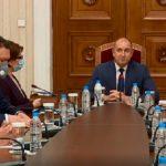 Румен Радев проведе консултации с представители на коалиция ГЕРБ-СДС