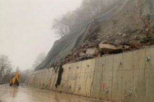 Критичният участък от пътя към Рилския манастир