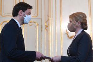 Президентката на Словакия Зузана Чапутова назначи Едуард Хегер за премиер