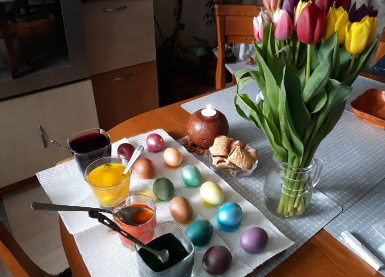 Велика събота, яйца