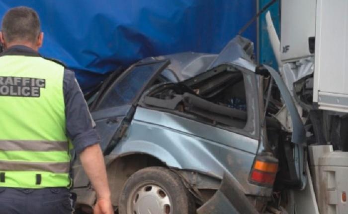Катастрофата на пътя Видин - Монтана Снимка: bTV
