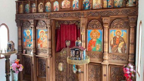 Георги Мараджиев е изградил параклис на името на Свети Георги в семейната фабрика още преди 20 години.