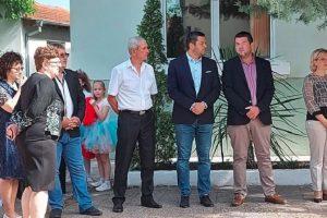 Павел Михайлов и Владимир Маринов бяха специални гости на церемонията по честване на 24 май в Ягодово.