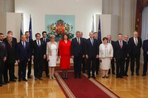 Служебното правителство, назначено от президентът Румен Радев