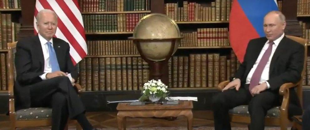 Срещата на Байдън и Путин в Женева