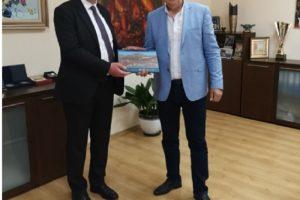 Инж. Александър Държиков се срещна с новия генерален консул на Република Турция в Пловдив Корхан Кюнгерю.