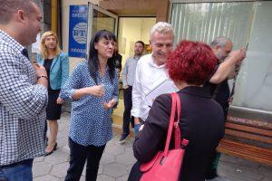 Пепа Деведжиева и Петър Москов