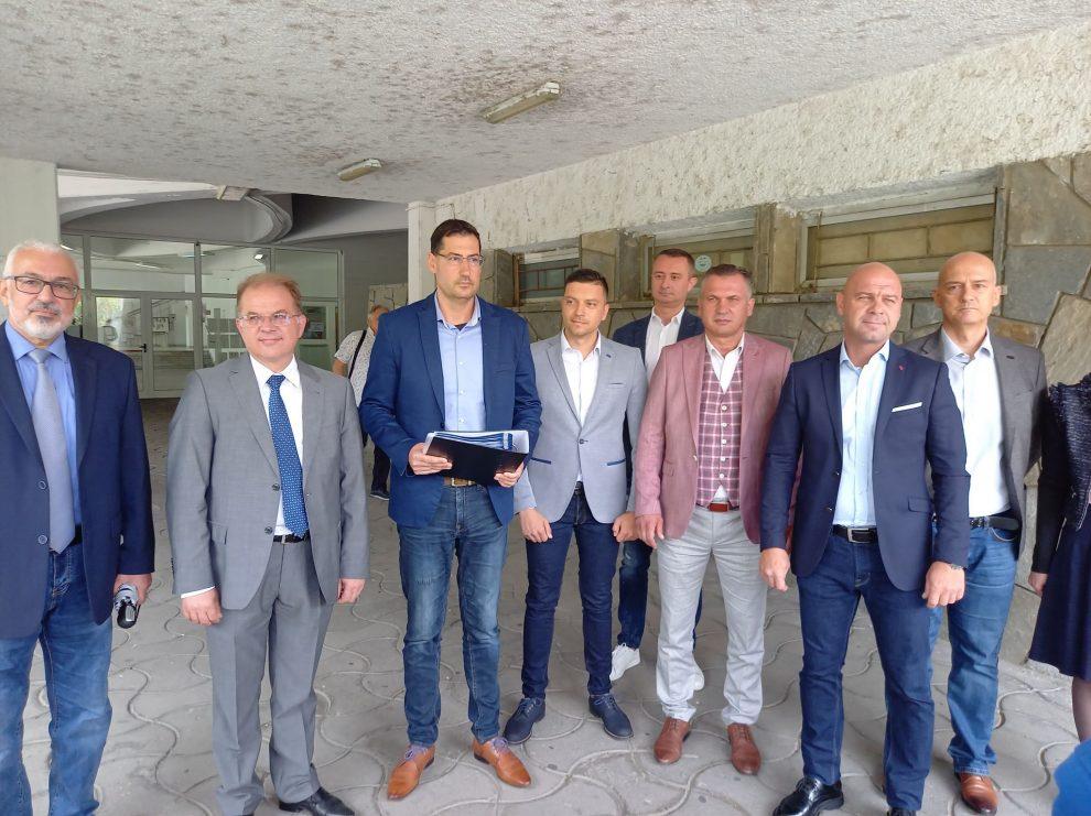 Основните фигури в листата на ГЕРБ в Пловдив.
