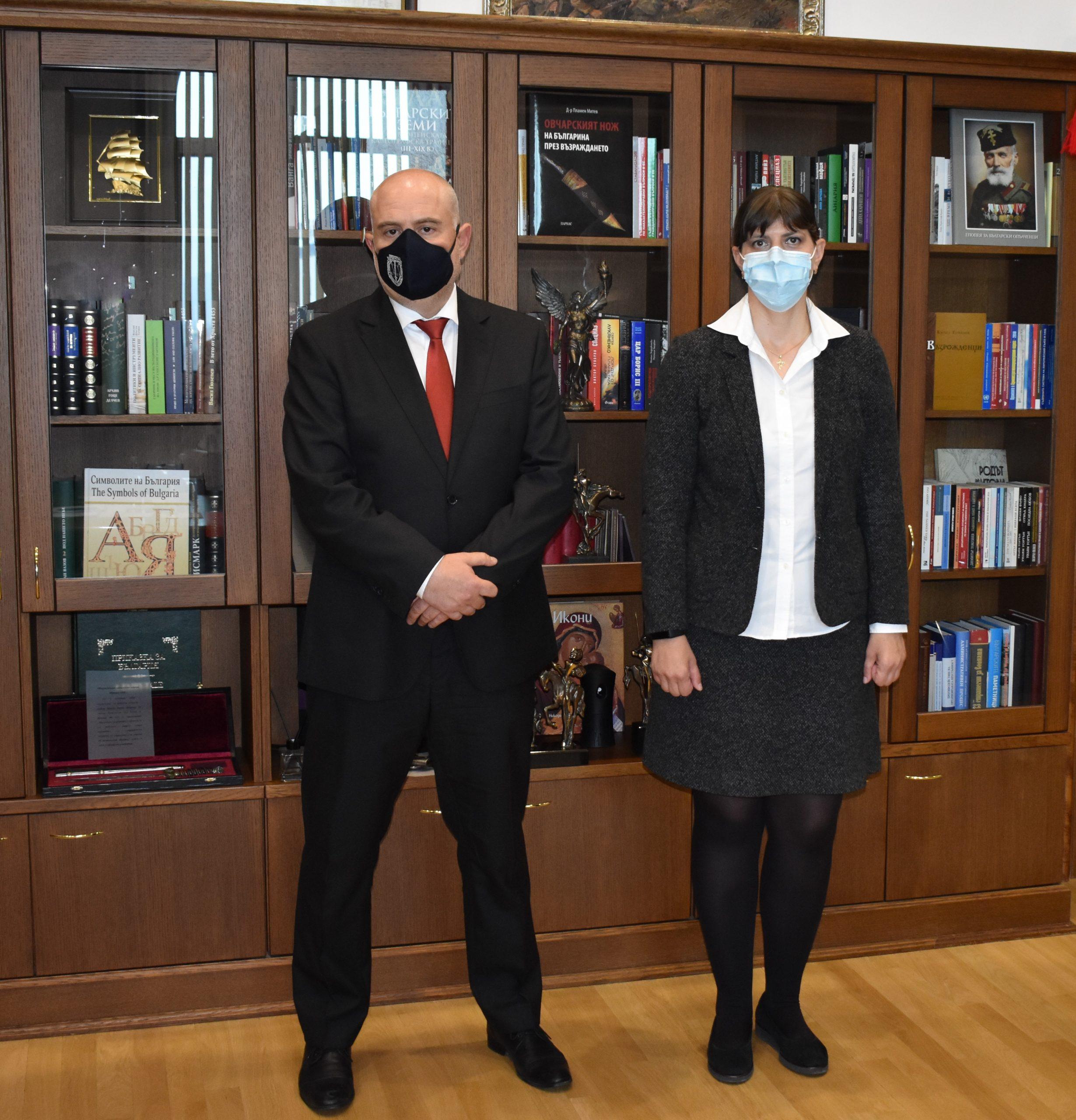 Иван Гешев и Лаура Кьовеши