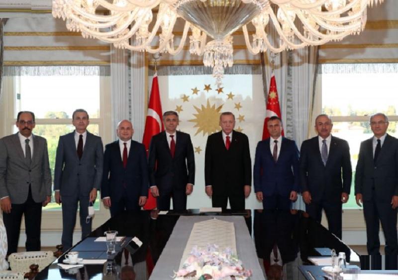 Ръководството на ДПС при президента на Турция Ердоган