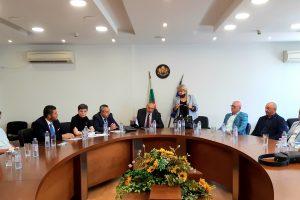 Срещата за организацията на изборите в областта.