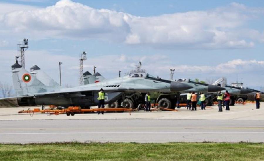 МиГ-29 са базирани в авиобазата в Граф Игнатиево