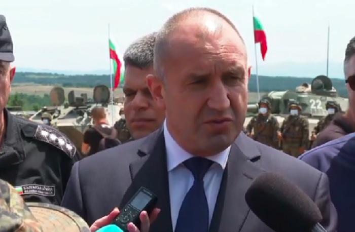Румен Радев, президент на България