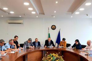 Срещата с представителите на МВР