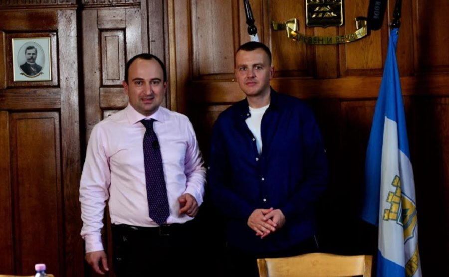 Стефан Стоянов и Петър Ганев