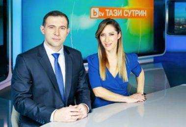 Златимир Йочев и Биляна Гавазова водеха сутрешния блок по бТВ