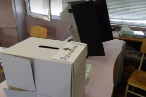 Машината и кутията, в която се слагат разписките, снимка: ПловдивПрес