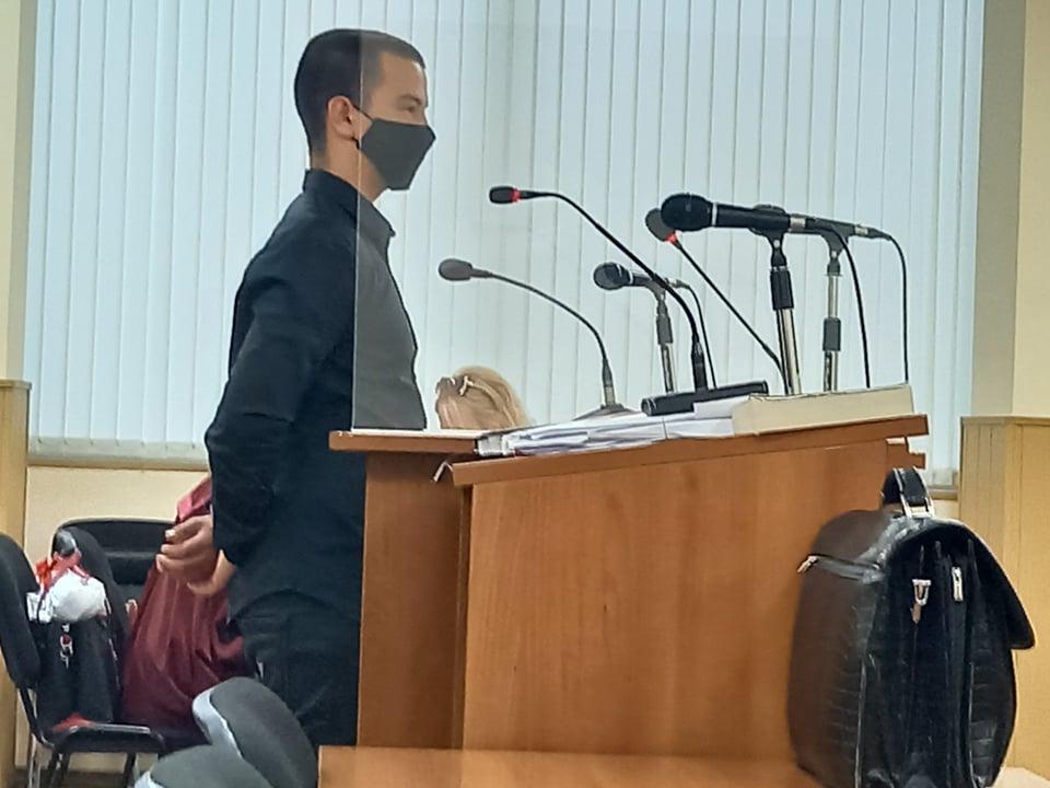 Петър Маринашки в съда