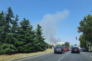 Пожарът край Скутаре