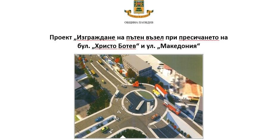 Проектът за нов мост на мястото на Бетонния