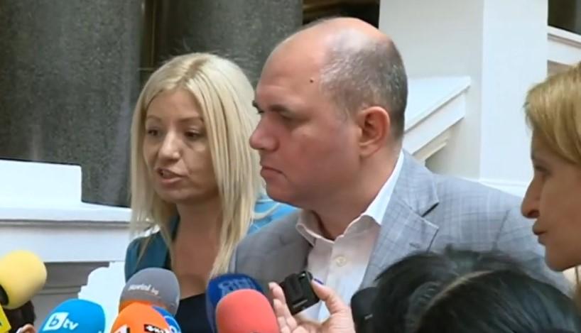 Цецка Бачкова и Владислав Панев