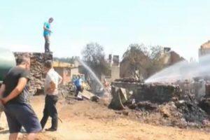 Пожарът в Кръстава, Велинградско