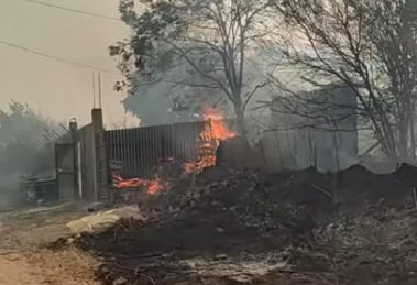 Пожарът в Старосел