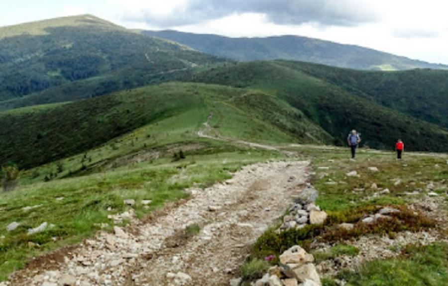 Пътека към връх Руен