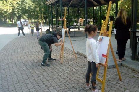 Засаждане на дръвчета и цветя бяха част от идеите на децата
